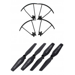 VISUO XS809HW XS809W RC Quadcopter Spare Parts Blade Propeller + Guard