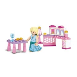 SLUBAN Τουβλάκια Girls Dream, Princess M38-B0238, 35τμχ