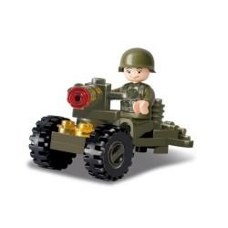 SLUBAN Τουβλάκια Army, Soldier M38-B0118, 24τμχ