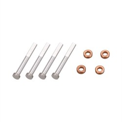 4pcs Bearing and 4pcs Metal Aluminum Shaft for VISUO XS809 XS809HW