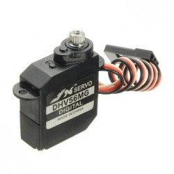 JX Servo D56MG 5.6g Coreless LV Low Voltage DS/MG Metal Gear Servo 0.89kg 0.10sec