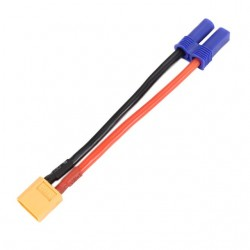 EC5 Style Female to XT60 Plug Male Connector for Helicopter Multirotor