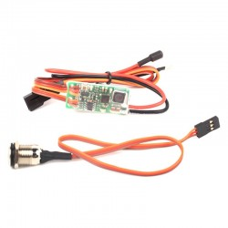 RCEXL Universal On Board Glow System Methanol Engine Ignition With LED Indicator for Airplane