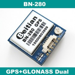 GPS GLONASS Dual GNSS module UBLOX M8030 NEO-M8N solution GPS module with antenna FLASH BN-280