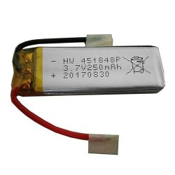 JJRC H49 SOL / Eachine E57 Spare Parts 1S 3.7V 250mAh Li-Po Battery