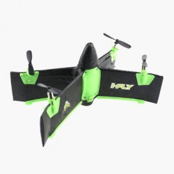 X99A 2.4G 4CH Flying Wing With Altitude Hold Mode RC Rocket Quadcopter RTF