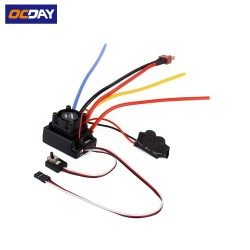 OCDAY 1/10 80A Adjustable Sensored/Sensorless Brushless ESC For Car Truck