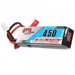 Gaoneng GNB 7.4V 450mAh 2S 80C/160C Lipo Battery JST Plug