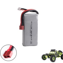 Lipo Battery 2S 7.4V 2700mah 20C Max 30C for Wltoys 12428 12423 1:12 RC Car Spare parts