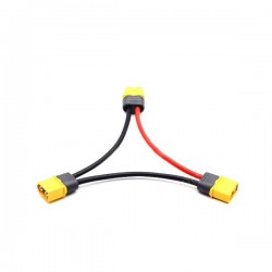 Amass XT90 12AWG Adapter Cable for 2-6S Lipo Battery