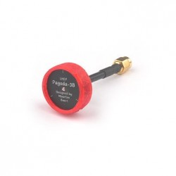 Pagoda RHCP 60mm 5.8G FPV Antenna SMA With Case Red/Purple FPV RC Drone