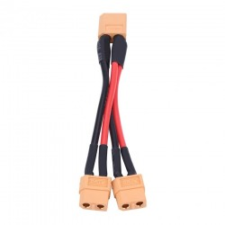 XT60 Parallel Battery Pack Connector Adapter 14AWG Cable for RC Lipo