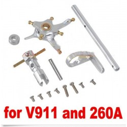 Wltoys V911/solo pro 260a Helicopter Metal Spindle Group Main Axle Set Upgraded Parts