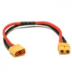 20cm Battery ESC XT60 Plug Extension Wire Cable Male Female