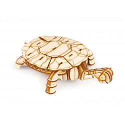 ROLIFE Ξύλινο 3D πάζλ χελώνα TG275, 63τμχ