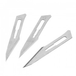50pcs Surgical Knives 11 Blades Carving Blade Utility Knife Blade