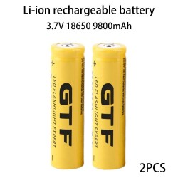 9800mAh 18650 Battery Li-Ion Battery Rechargeable Battery Durable