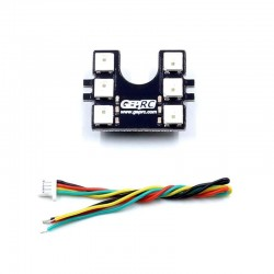 GEPRC GEP-KX5 Elegant 243mm RC Drone FPV Racing Frame Spare Parts LED Taillight Board with Buzzer