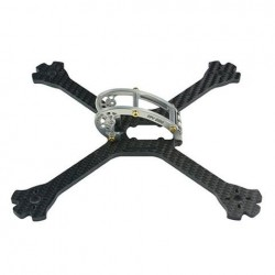 LDARC 200GT 200mm 4mm Arm Carbon Fiber True X FPV Racing Frame Support 20x20mm Flight Controller