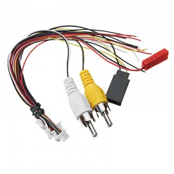 Universal JST-SH 1.0mm RCA TJC8 6P 4P 6 Pin 4 Pin AV Cable Audio Video Wire For Eachine EV100 ProDVR