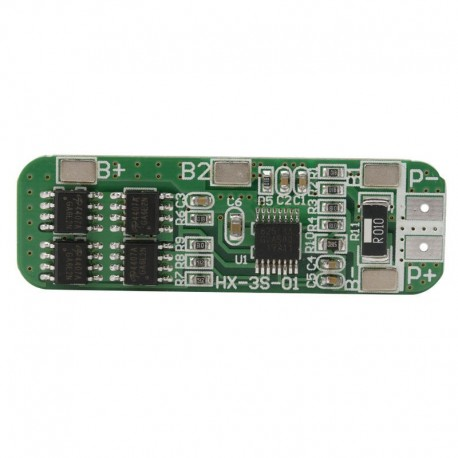 3S 12V 6A PCB BMS Protection Board For 18650 Li-ion Lithium Battery Cell