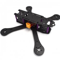 Realacc X6R 250mm 4mm Arm Carbon Fiber Frame Kit with BEC Output PDB