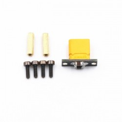 DIY XT30 Fixed Seat XT30 Connector & Welding Board Intergrated Capacitor Filtering for for RC Drone FPV Racing