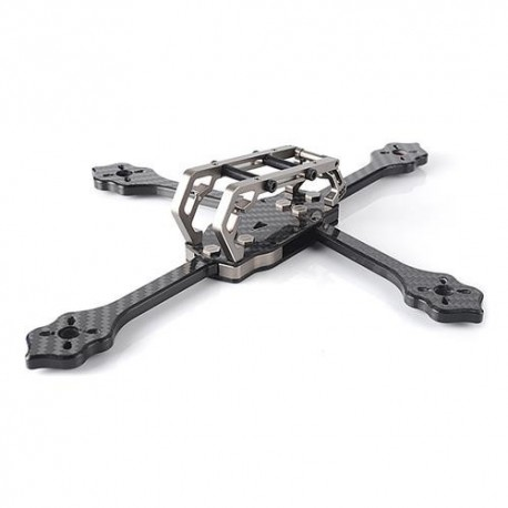 Diatone 2018 GT-M200 187mm/230mm Normal Plus FPV Racing RC Drone Frame Kit 6mm Arm Supports 5 Inch Prop - Titanium
