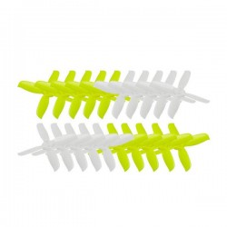 10 Pairs KINGKONG/LDARC 2045 51.6mm 4-blade Propeller CW CCW 1.5mm Mounting hole for RC Drone