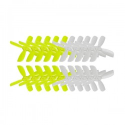 10 Pairs KINGKONG/LDARC 2035 51.6mm 4-blade Propeller CW CCW 1.5mm Mounting hole for RC Drone
