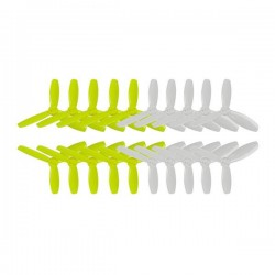 10 Pairs KINGKONG/LDARC 3045 76.46mm 3-blade Propeller CW CCW 1.5mm Mounting hole for RC FPV Racing