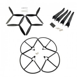 Propellers Protection Cover & Landing Gear Set For Hubsan H501S RC Quadcopter