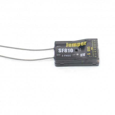 Jumper SF810 8CH Full Range S-FHSS Receiver SBUS PWM Output for T8SG Futaba T14SG Radio Transmitter