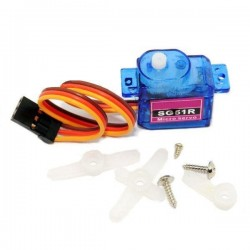 SG51R 5g Plastic Gear Digital Micro Servo For RC Airplane