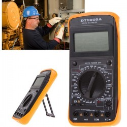 DT9205A Handheld Lcd Display Digital Multi Meters DMM with AC/DC Amp Volt Resistance Capacitance Test