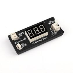 1S LiPo Battery Voltage Checker Tester