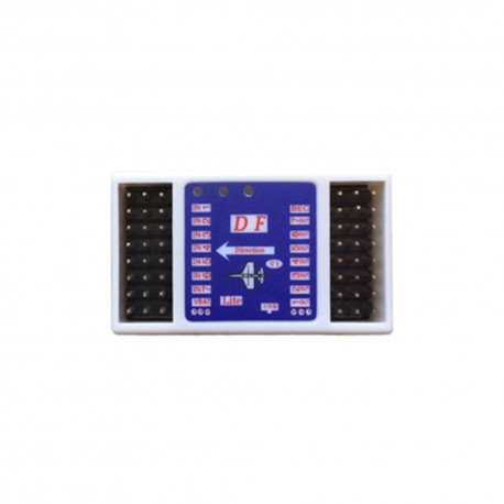 DF-F1 Automatic Balanced Gyroscope One-button Return Flight Control for RC Airplane Fixed Wing