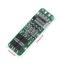 3S PCB BMS Protection Board For 18650 Li-ion Lithium Battery Cell 12.6V 20A