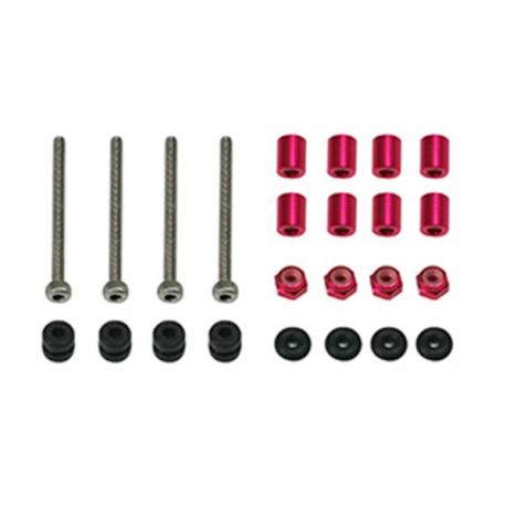 LDARC / Kingkong 3 Layer KK Flytower Spare Part Screws and Aluminum Column for Building RC Drone