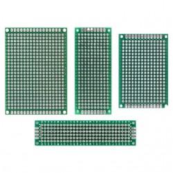 5x7 4x6 3x7 2x8 cm Double Side Copper Prototype Pcb Universal Board Compatible for Arduino