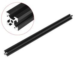 Machifit Black 2020 V-Slot Aluminum Profile Extrusion Frame for CNC Laser Engraving Machine - 1000mm