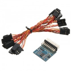 Tarot 8 Channel Signal Conversion Module PWM/PPM/SBUS/DBUS/S-BUS/D-BUS/Pixhawk For Multicopter Drone
