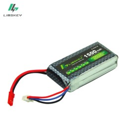 Limskey Power 2s 1500mAh 7.4V Battery for Hubsan X4 PRO transmitter / H501S / H502S / H107D remote controller FPV2
