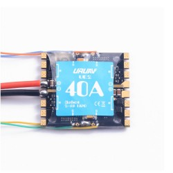 URUAV UE2 40A BLheli_S 2-5S 4 In 1 Detachable ESC Support DShot600 for RC Drone FPV Racing