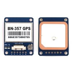 BN-357 GPS Module With Ceramic Antenna Support GPS GLONASS BeiDou for Pixhawk APM