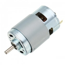 775 Motor DC 12V 10000rpm Motor Double Ball Bearings 150W Large Torque High Power Motor