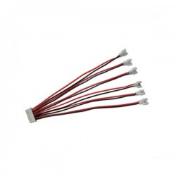 1 To 6 1S 3.7V Lipo Battery Charging Cable For Walkera Hubsan X4 RC Quadcopter