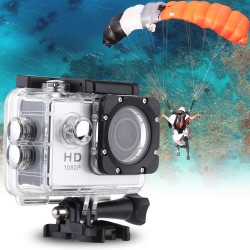 "F23 1080P 30FPS 12MP 1.5"" Screen Waterproof 30M Shockproof 170° Wide Angle Action Sports Camera"