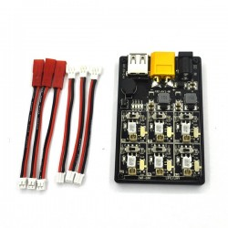 6 In 1 4.2V 4.35V 2S-6S Lipo LiHv Battery Charger Board For RC Models