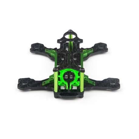Happymodel Mantis85 85mm FPV 3K Carbon Fiber FPV Racing Frame Kit with ABS Nylon Camera Mount for RC Drone